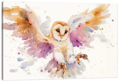 Twilight Owl Canvas Art Print