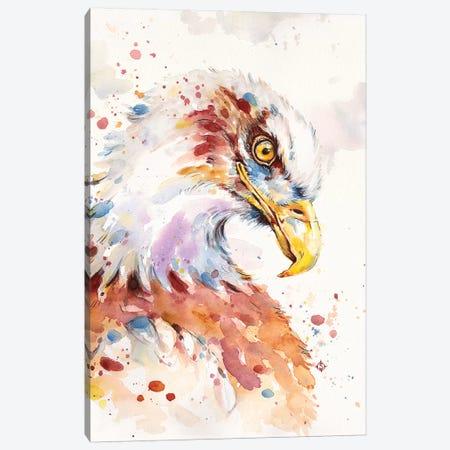 Wild & Free Canvas Print #SIL71} by Sillier Than Sally Canvas Art
