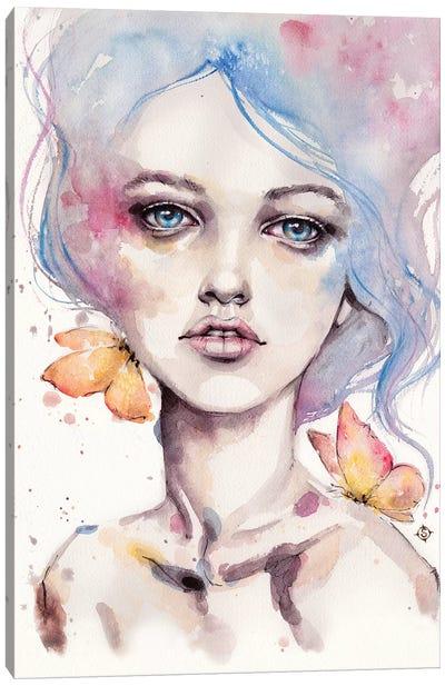 With Elegance Canvas Art Print
