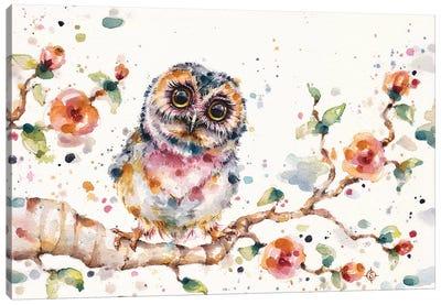 Yep, Cute Is My Middle Name Canvas Art Print