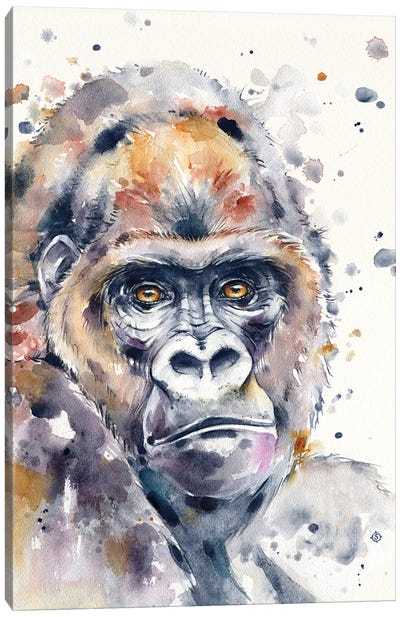 A World Away (Gorilla) Canvas Art Print