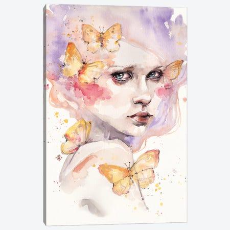 All A Flutter Canvas Print #SIL7} by Sillier Than Sally Canvas Artwork