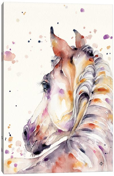 Strength & Softness (Horse) Canvas Art Print