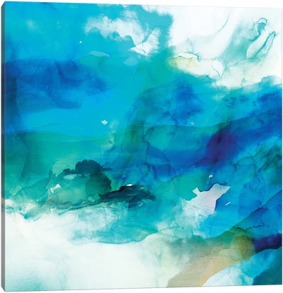 Ephemeral Blue I Canvas Art Print