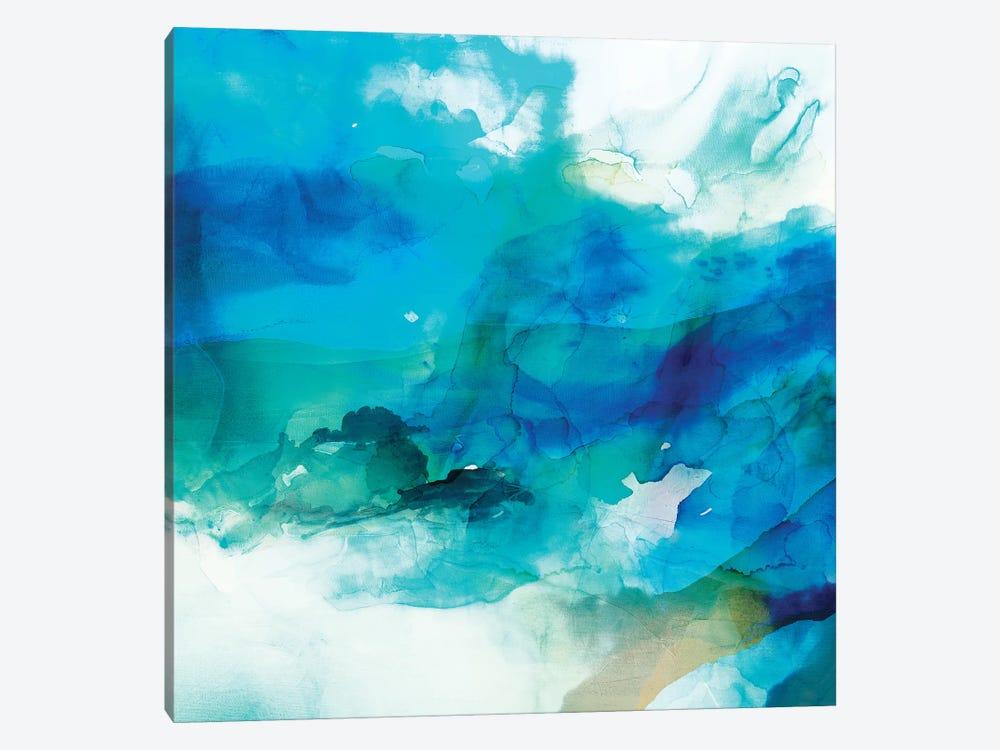 Ephemeral Blue I by Sisa Jasper 1-piece Canvas Art Print