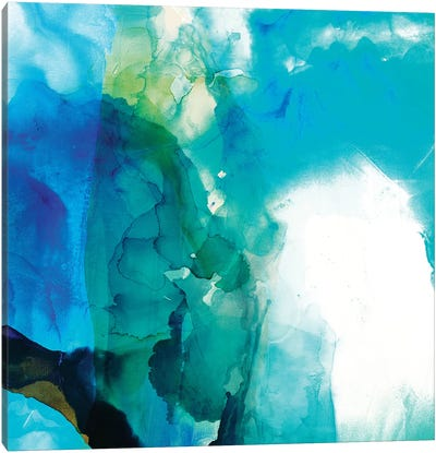 Ephemeral Blue II Canvas Art Print