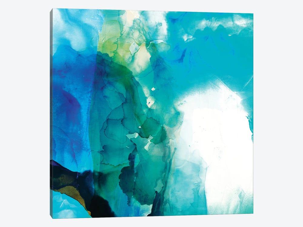 Ephemeral Blue II by Sisa Jasper 1-piece Canvas Wall Art