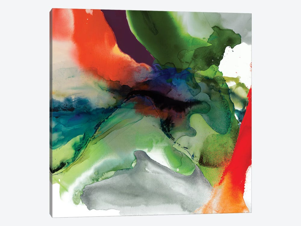 Vibrant Terrain II by Sisa Jasper 1-piece Canvas Art