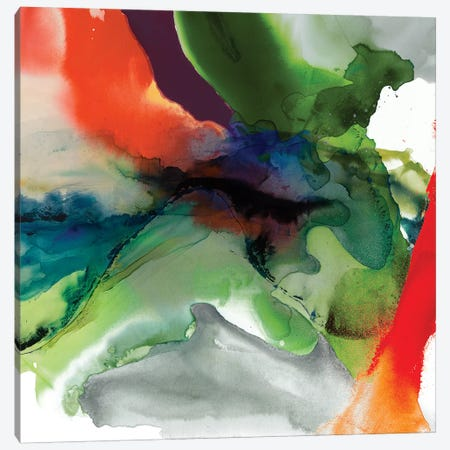 Vibrant Terrain II Canvas Print #SIS105} by Sisa Jasper Canvas Artwork