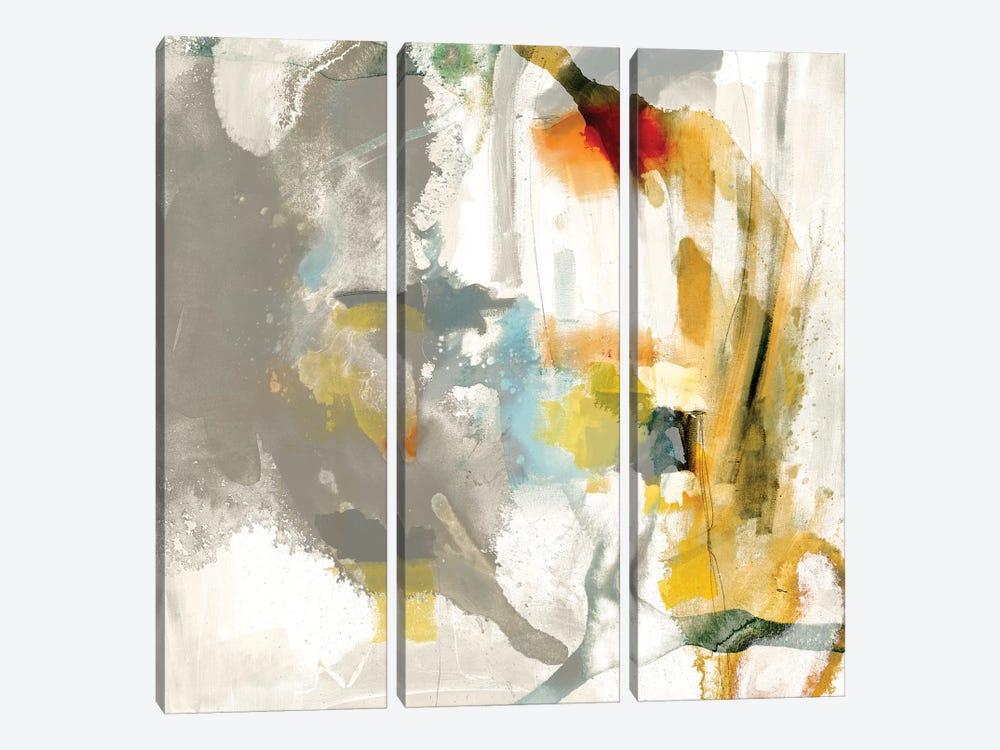Defy I by Sisa Jasper 3-piece Canvas Print