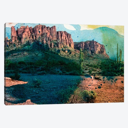 Arizona Abstract Canvas Print #SIS11} by Sisa Jasper Canvas Art Print
