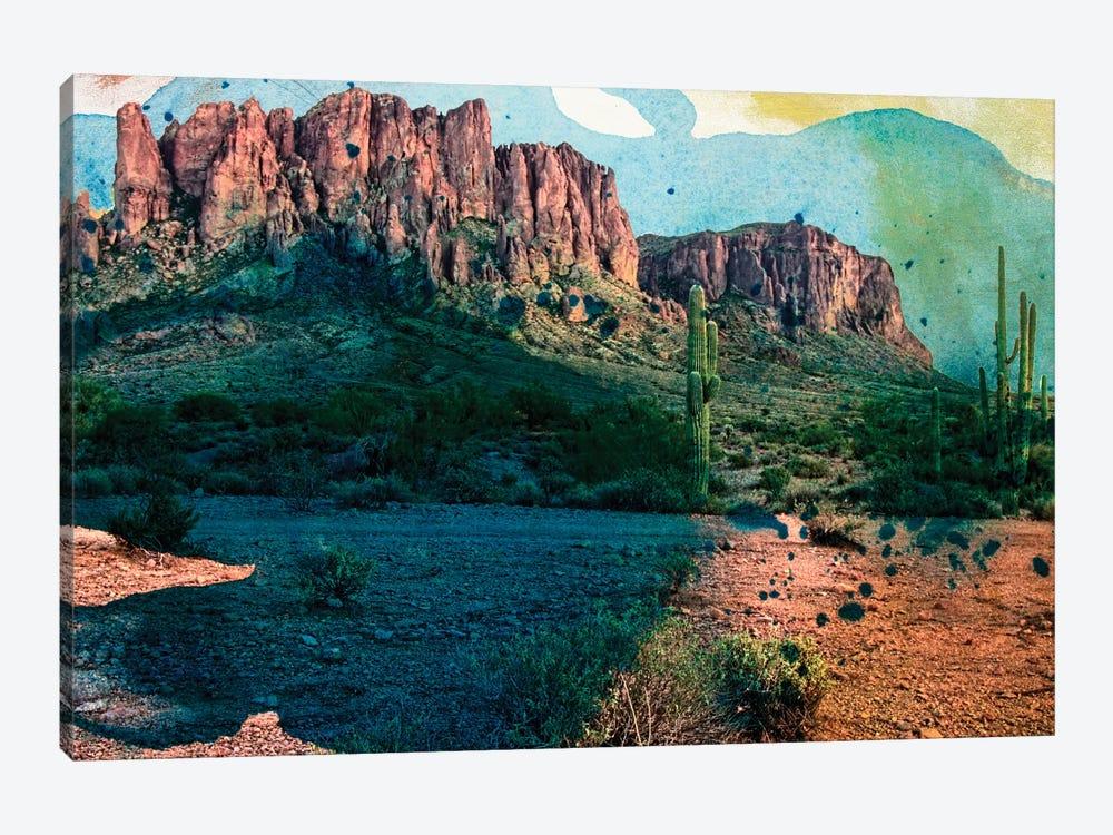 Arizona Abstract by Sisa Jasper 1-piece Canvas Art