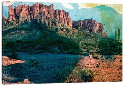 Arizona Abstract Canvas Art Print