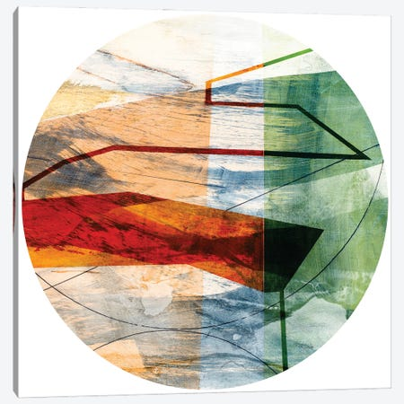 Minimal Circle II Canvas Print #SIS124} by Sisa Jasper Canvas Artwork