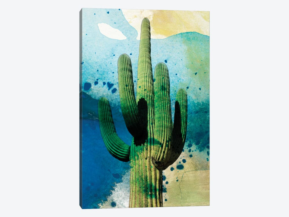Cactus Abstract by Sisa Jasper 1-piece Art Print