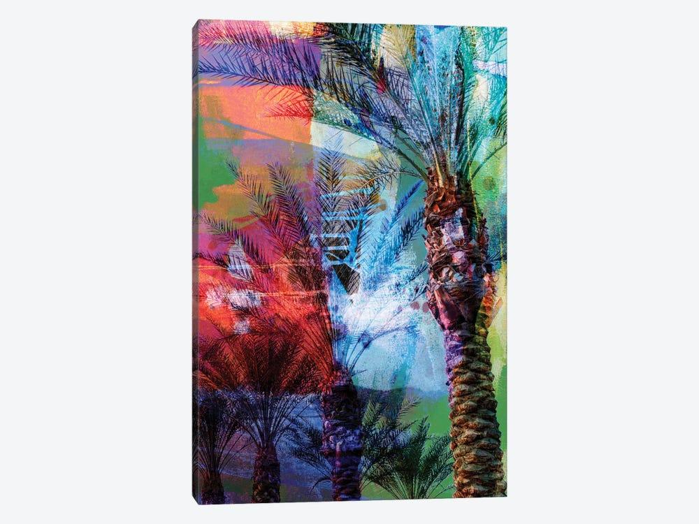 Desert Palm Abstract by Sisa Jasper 1-piece Canvas Wall Art
