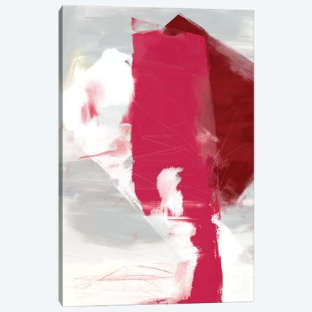 Magenta Abstract I Canvas Print #SIS18} by Sisa Jasper Canvas Print