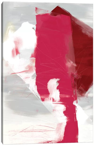 Magenta Abstract I Canvas Art Print