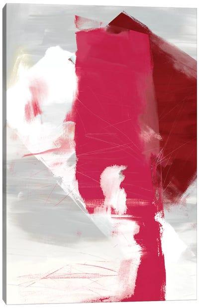 Magenta Abstract I Canvas Print #SIS18