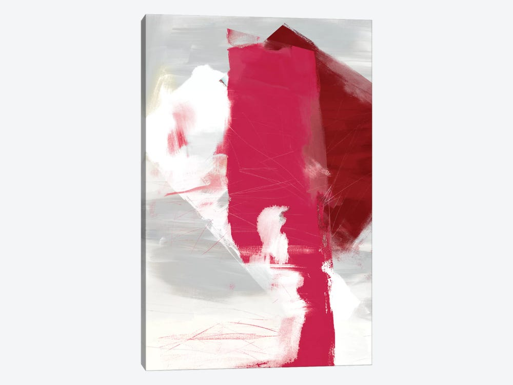 Magenta Abstract I by Sisa Jasper 1-piece Canvas Art Print