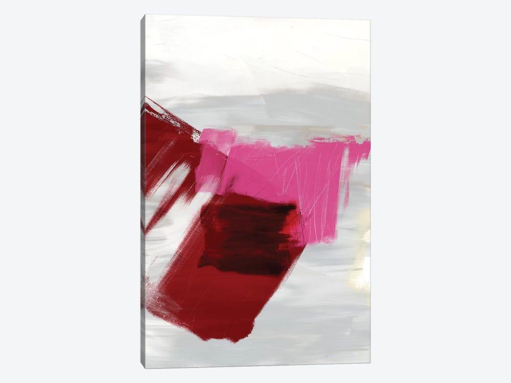 Magenta Abstract II by Sisa Jasper 1-piece Canvas Artwork