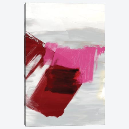 Magenta Abstract II Canvas Print #SIS19} by Sisa Jasper Canvas Art Print