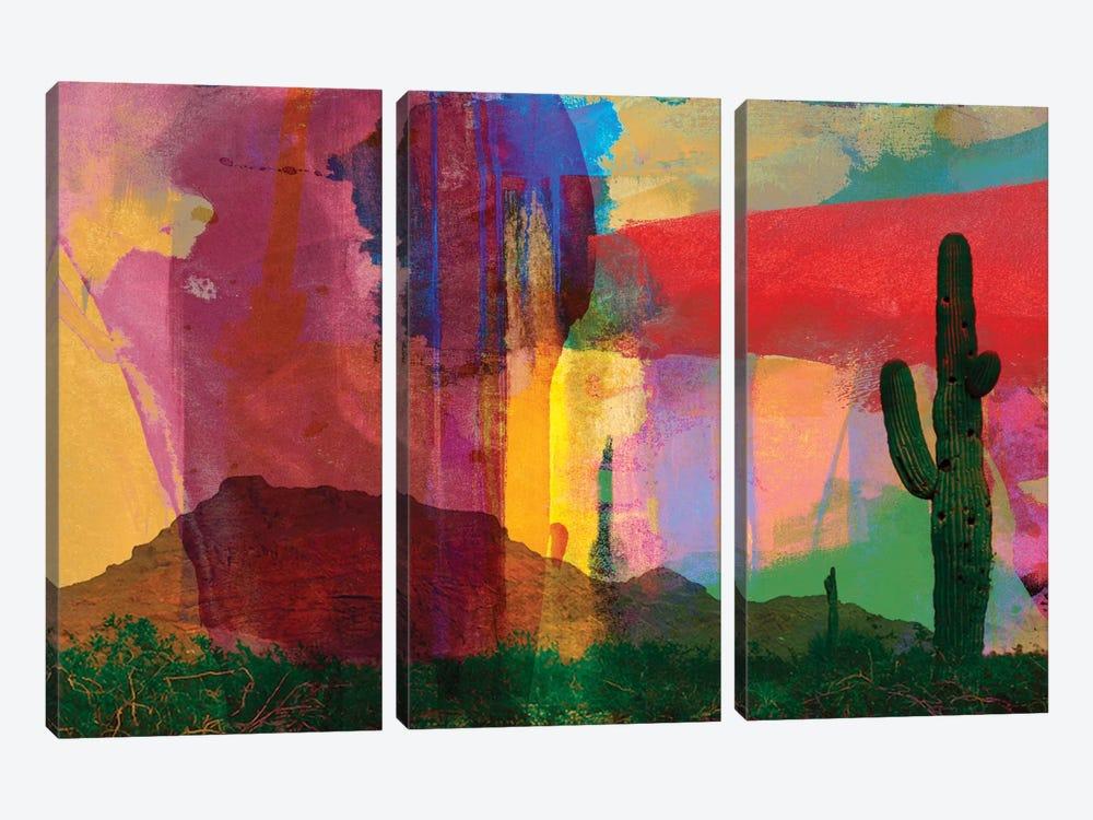Mesa Abstract by Sisa Jasper 3-piece Canvas Art Print