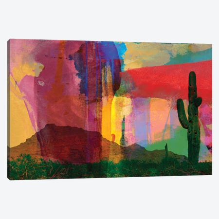 Mesa Abstract Canvas Print #SIS21} by Sisa Jasper Canvas Wall Art