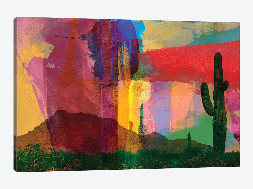 Mesa Abstract by Sisa Jasper 1-piece Art Print