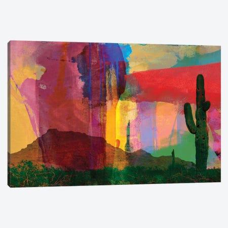 Mesa Abstract Canvas Print #SIS21} by Sisa Jasper Canvas Wall Art