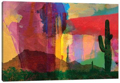 Mesa Abstract Canvas Art Print
