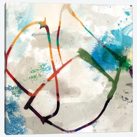 Playful Intent I Canvas Print #SIS22} by Sisa Jasper Canvas Artwork