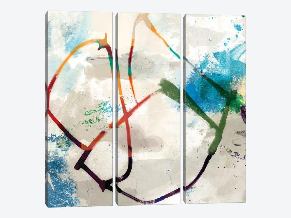 Playful Intent I by Sisa Jasper 3-piece Canvas Artwork