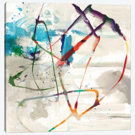 Playful Intent II Canvas Print #SIS23} by Sisa Jasper Canvas Art