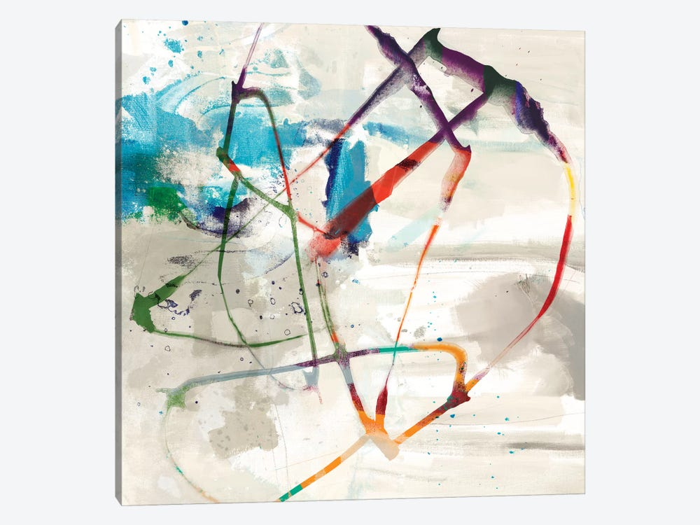 Playful Intent II by Sisa Jasper 1-piece Canvas Art Print
