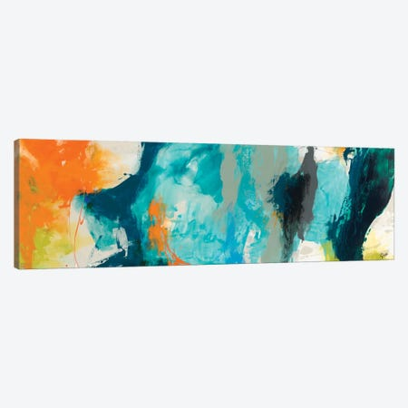 Tidal Abstract II Canvas Print #SIS25} by Sisa Jasper Canvas Art Print