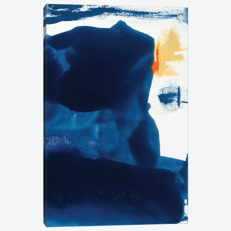 Blue Amore I Canvas Print #SIS33} by Sisa Jasper Canvas Print