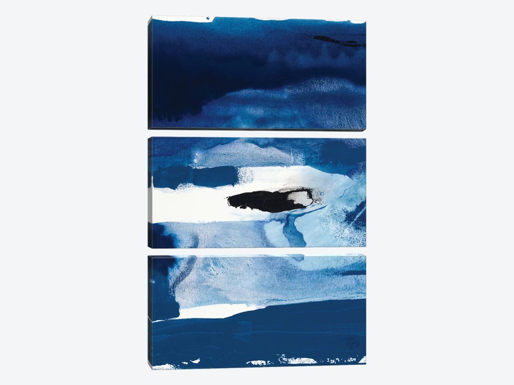 Blue Amore II by Sisa Jasper 3-piece Art Print