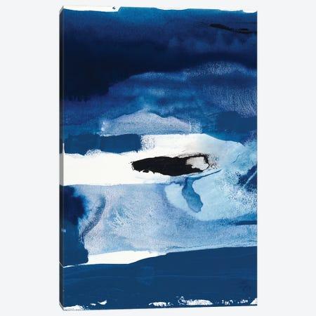 Blue Amore II Canvas Print #SIS34} by Sisa Jasper Canvas Art