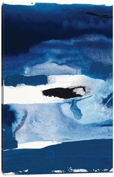 Blue Amore II Canvas Art Print