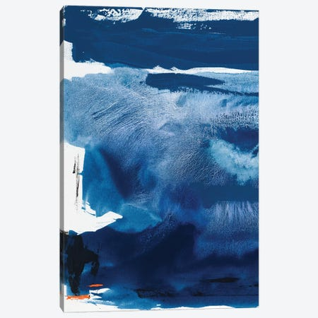 Blue Amore III Canvas Print #SIS35} by Sisa Jasper Canvas Art