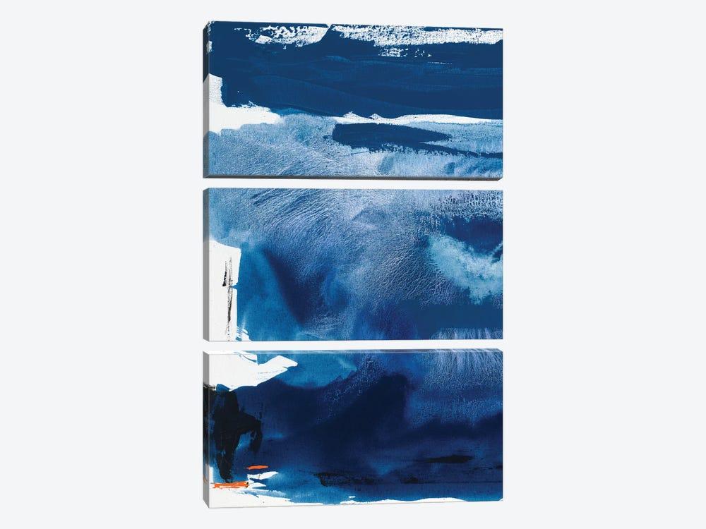 Blue Amore III by Sisa Jasper 3-piece Canvas Art