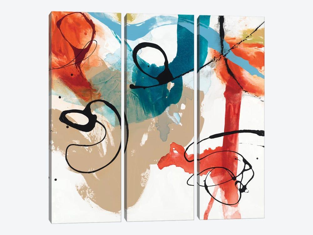 Fabricate I by Sisa Jasper 3-piece Art Print