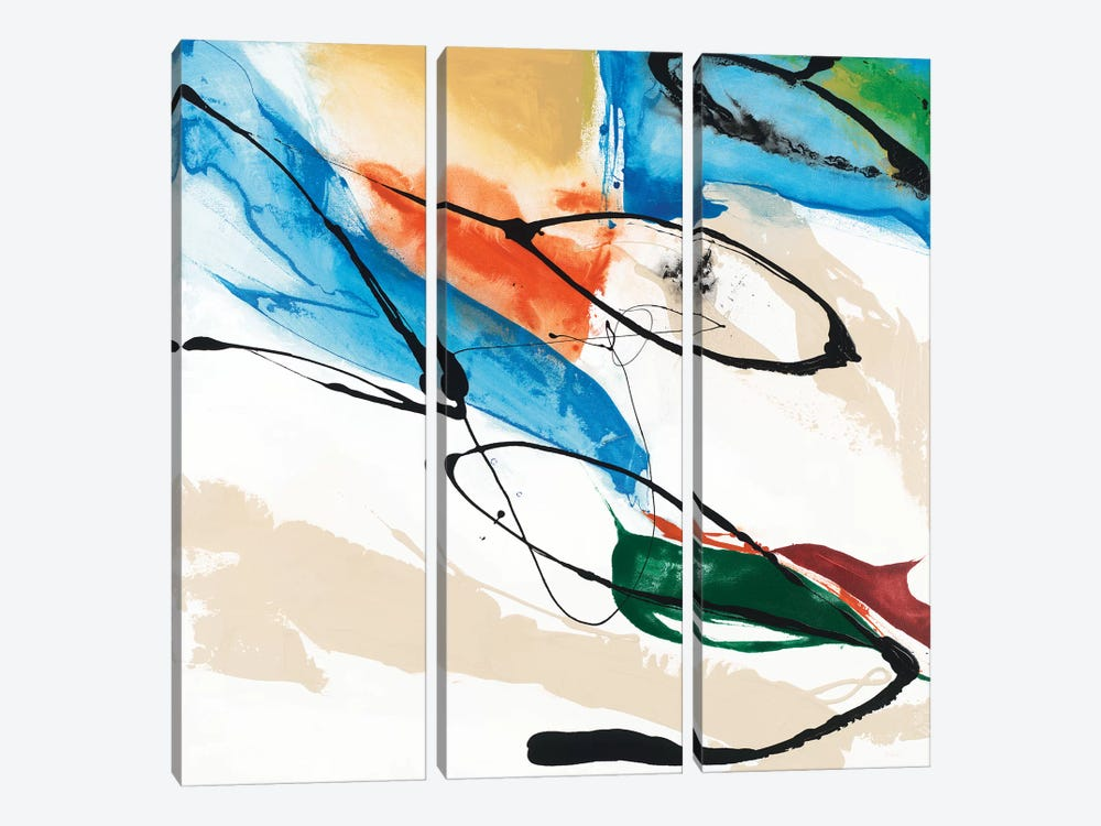 Fabricate II by Sisa Jasper 3-piece Canvas Art
