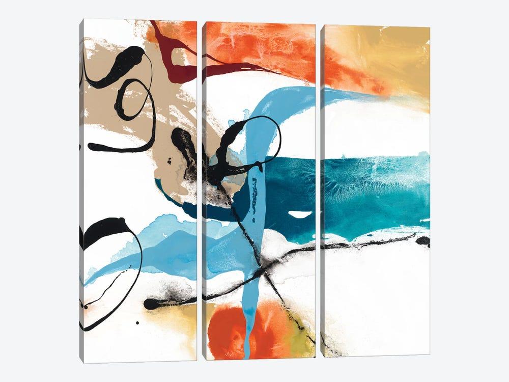 Fabricate III by Sisa Jasper 3-piece Canvas Print