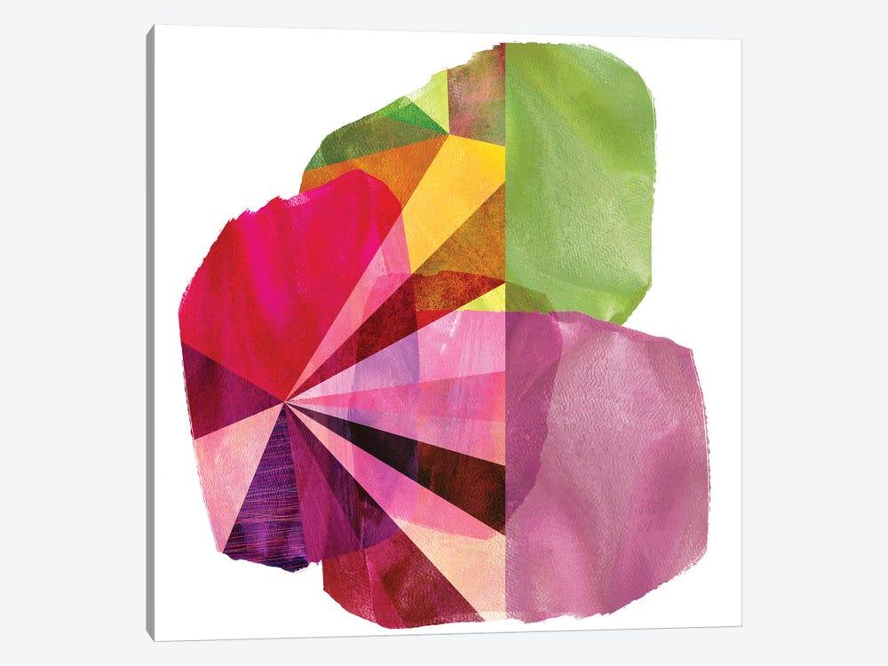 Geo Mono Block I by Sisa Jasper 1-piece Canvas Art Print