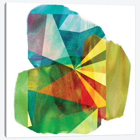 Geo Mono Block II Canvas Print #SIS46} by Sisa Jasper Art Print