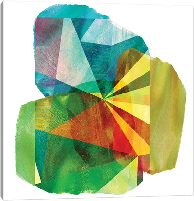 Geo Mono Block II Canvas Art Print