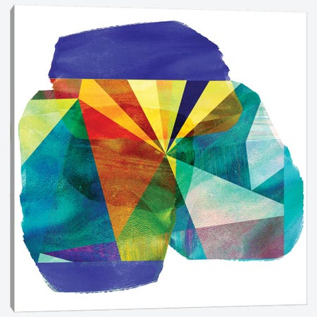 Geo Mono Block III Canvas Print #SIS47} by Sisa Jasper Canvas Art Print