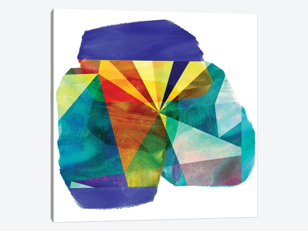 Geo Mono Block III by Sisa Jasper 1-piece Art Print
